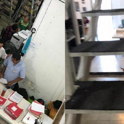 Incumplen medidas contra el Covid-19 en el palacio municipal de Progreso