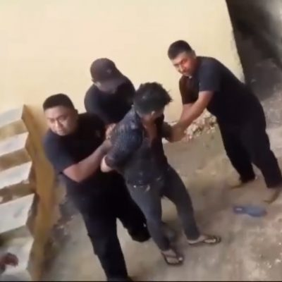 Evidencian graves carencias en la policía municipal de Chichimilá
