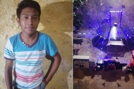 Joven de Kanasín recrea la magia del circo… en miniatura