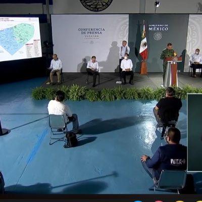 AMLO elogia de nuevo la seguridad pública de Yucatán