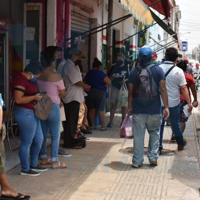 Rebasa Mérida los dos mil contagios de Covid-19