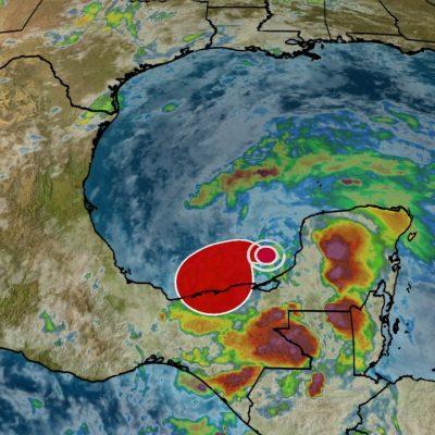 Lluvias hasta por lo menos el jueves en Yucatán, a causa de la tormenta Cristóbal