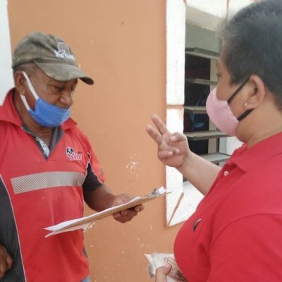Entregan a ejidatarios de Chocholá 1.7 mdp por derecho del Tren Maya