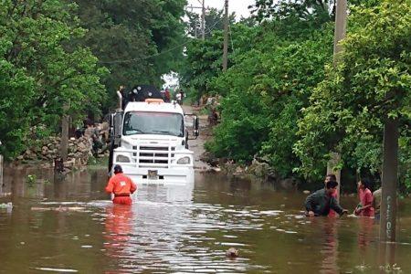 Ya cayeron en Mérida 260 mm en los últimos tres días… y aún habrá más lluvia