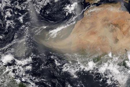 Polvo del Sahara podría ser otro aliado del coronavirus Covid-19