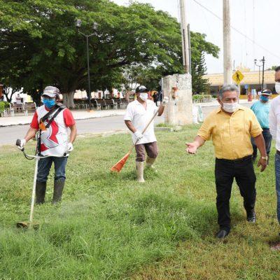El gobernador Mauricio Vila supervisa la recuperación en zonas afectadas por Cristóbal