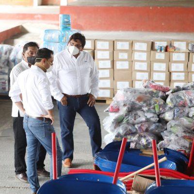 Empleo temporal a 28 mil yucatecos tras la tormenta tropical Cristóbal
