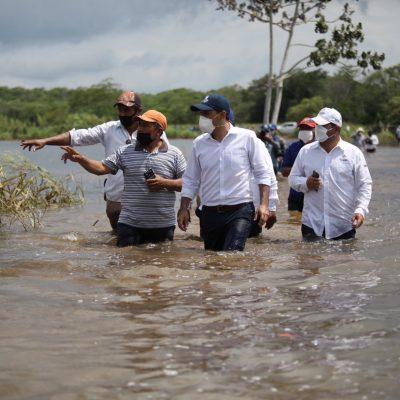 Liberan 35 mdp para apoyar a campesinos que perdieron todo por Cristóbal