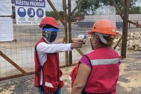 Clausuran empresas de la construcción por no cumplir protocolos sanitarios