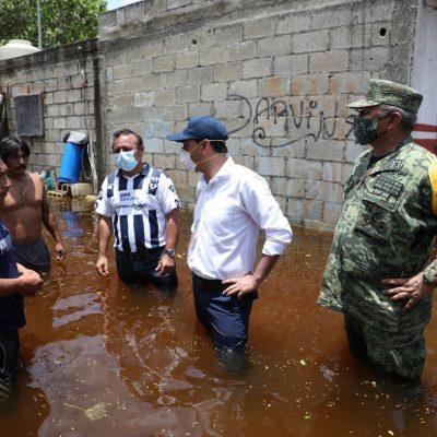 Más yucatecos afectados por las lluvias de la tormenta tropical Cristóbal