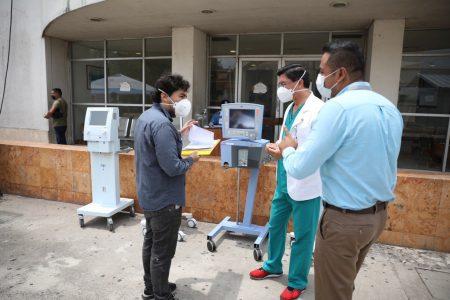Gobierno de Yucatán sigue equipando hospitales en la lucha contra el Covid-19