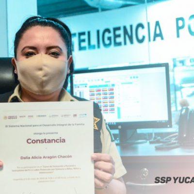 Personal del 9-1-1 se capacita en protección contra la violencia a niños y adolescentes