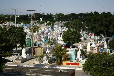 Cementerios de Mérida permanecerán cerrados el próximo fin de semana
