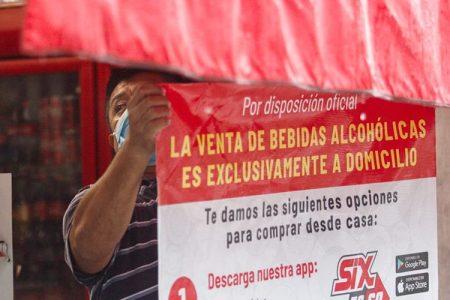 Venta de bebidas alcohólicas con servicio a domicilio, hasta el 17 de junio