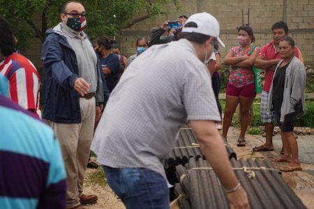 Triple golpe en La Mielera: Covid-19, crisis económica y tormenta Cristóbal