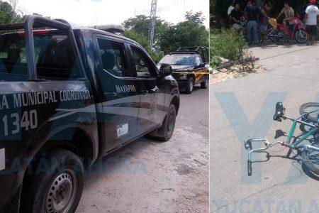 Trágico accidente en Mayapán: muere un ciclista de 14 años