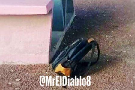 Encuentran el cuerpo de un bebé dentro de una mochila, en Neza