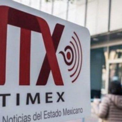 Cierra Notimex, la agencia de noticias del estado mexicano