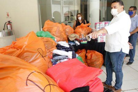 Los meridanos, con mucha solidaridad con las familias damnificadas de Cristóbal