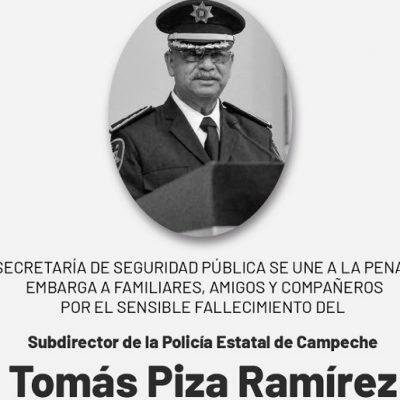 Obituario: comandante Tomás Piza Ramírez