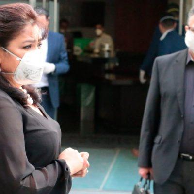 Hospitalizan por Covid-19 a Nestora Salgado, senadora de Morena por Guerrero