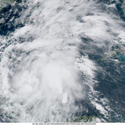 Nace la tormenta tropical Cristóbal en la Sonda de Campeche