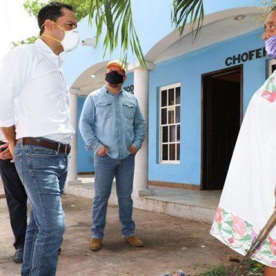Más yucatecos se benefician con el Programa Emergente de Apoyo Comunitario