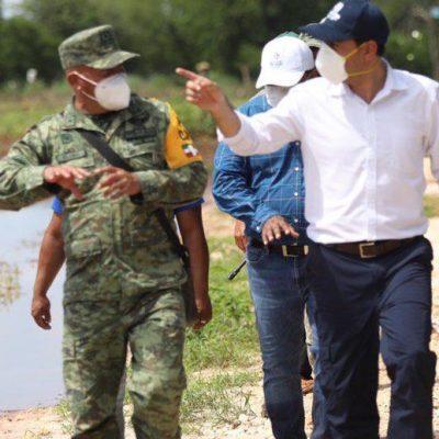 Instalarán potabilizadora para abastecer a poblados afectados por inundaciones
