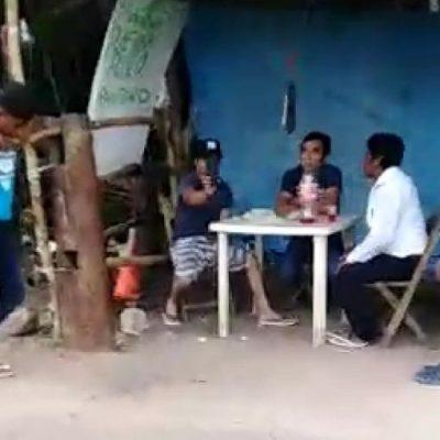 """Buen yerno se topa con un """"filtro sanitario"""" en pequeña comunidad de Yucatán"""