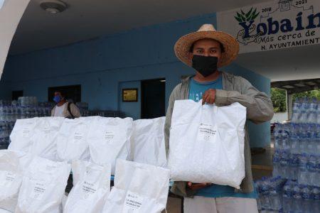 Joven productor recibe apoyo para reponerse de daños de la tormenta Cristóbal