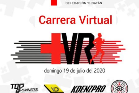 """Cruz Roja Yucatán invita a la 1ª Carrera Virtual """"Cada paso salva vidas"""""""