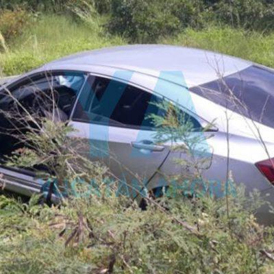 Tras discutir, su esposa le toma el volante y se accidentan junto a su hijo de 8 años