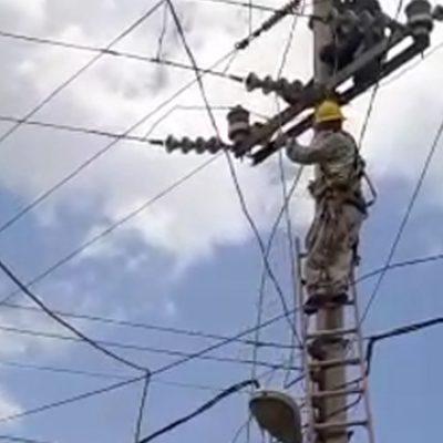 Fallece trabajador de la CFE que sufrió descarga eléctrica en Oxkutzcab