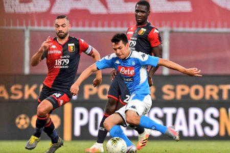 """El """"Chucky"""" está de vuelta: segundo gol al reanudarse el futbol italiano"""