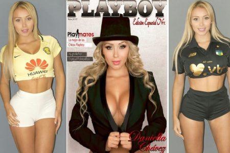 La modelo Daniella Chávez, de conejita playboy a dirigir un equipo de futbol