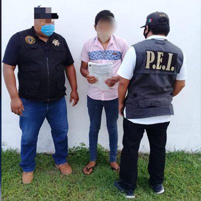 Dan prisión preventiva a acusado de homicidio en Francisco de Montejo