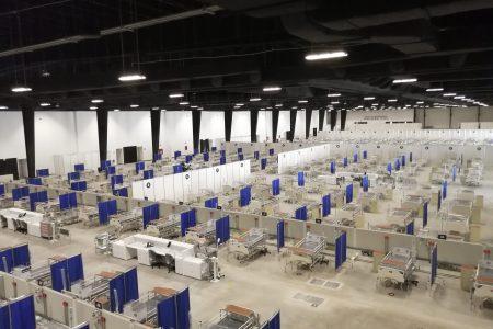 El hospital temporal del Siglo XXI, listo para funcionar cuando los casos lo ameriten