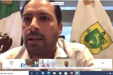 Mauricio Vila se reúne con autoridades federales de salud