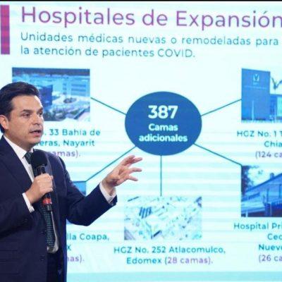Apuesta el IMSS porque nadie se quede sin hospitalización en la emergencia sanitaria