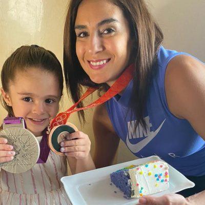 La clavadista Paola Espinosa celebra hoy el día de mayor felicidad en su vida