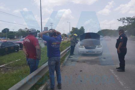 Mecánico en lío: se quema una camioneta que estaba probando