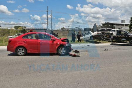 Trágico accidente en el Periférico, frente al complejo de seguridad: mueren 2 mujeres y dos bebés