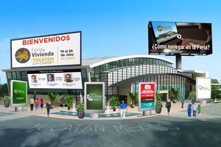 Inauguran la Feria de Vivienda Yucatán 2020, en recorrido virtual