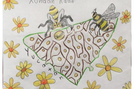 Reconocimiento a niños que pusieron en apuros a los jueces en concurso de dibujo