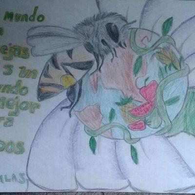 Con coloridos trazos, niños de 8 municipios de Yucatán invitan a cuidar las abejas mayas