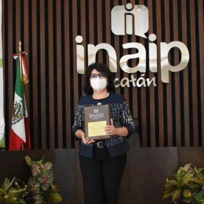 Concluye periodo de la comisionada María Eugenia Sansores Ruz