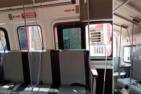 Conoce el diseño de combi colectiva para la nueva normalidad en transporte
