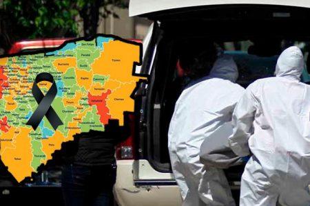 Casi 50 muertos por Covid-19 en los últimos tres días en Yucatán
