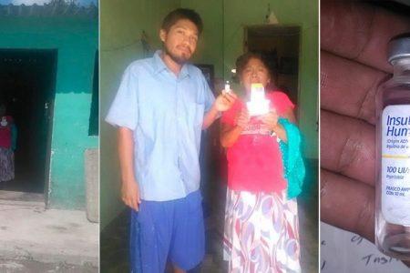 Joven y su madre con diabetes reiteran llamado a que los ayuden