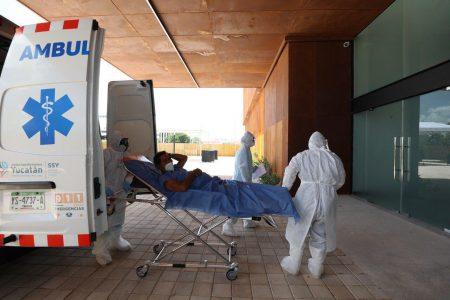 Leve respiro de contagios en el primer día de la apertura del hospital de desahogo